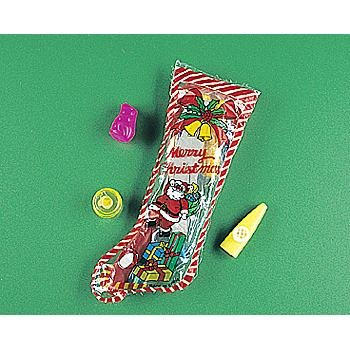 """Wholesale 12"""" Toy Filled Christmas Stockings"""