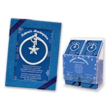 Wholesale Crystal Snowflake Bracelet (Gift Boxed)