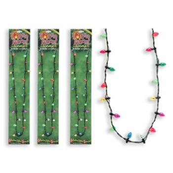 Wholesale Lotsa Lites Christmas Light-Up Necklace