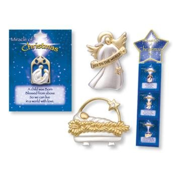 Wholesale Blessings of Christmas Pin