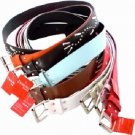 Wholesale Ladies' Belts, 3cm x 110 cm, Assorted