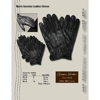 Wholesale Men's Genuine Leather Gloves