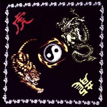Wholesale Dragon and Tiger Yin Yang Bandanas