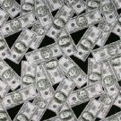 Wholesale Money Print Bandanas - Dozen Packed 22x22