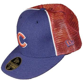 Wholesale Chicago Cubs New Era Fitted Trucker Cap