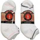 Wholesale Women's British Open White Ankle Sock Mix