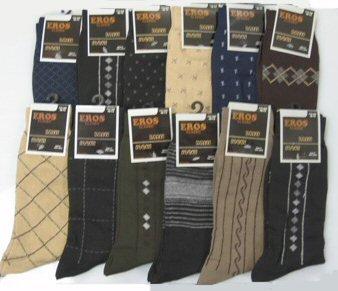 Wholesale Men's Pattern Dress Socks
