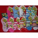 NEW! Wholesale Sponge Bob Ankle Socks