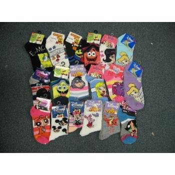 Wholesale Licensed Cartoon Socks