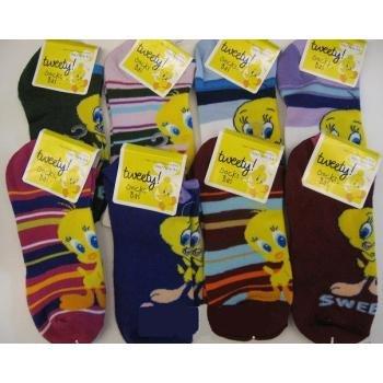 NEW! Wholesale Tweety Ankle Socks