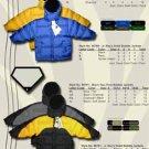 Wholesale Boy's Down Filled Contrast Color Bubble Jacket
