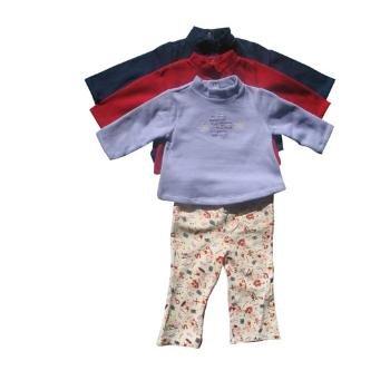 Wholesale 2pc Turtleneck Printed Pant Set