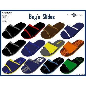 Wholesale Boys Slides Flip Flops