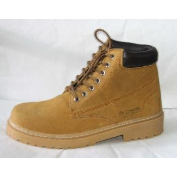 Wholesale Forester Men's Suede Work Boots, Tan