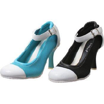 Wholesale Trendy Sneaker Looking Pump Shoes, 3 Colors