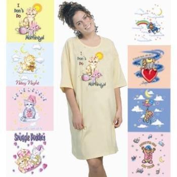 Wholesale Night Shirts (Printed)