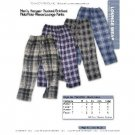 Wholesale Men's printed polar fleece lounge pants