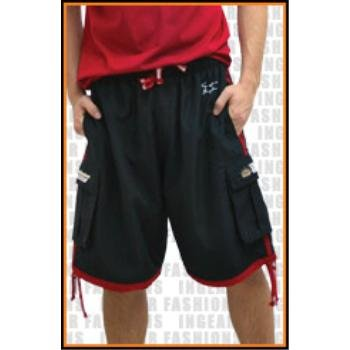 Wholesale Budweiser Micro Fiber Fully Lined Cargo Shorts