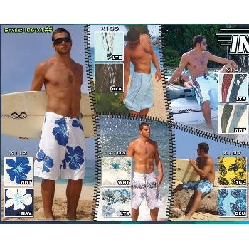 Wholesale Classic Cut Micro Fiber Men's Board Shorts