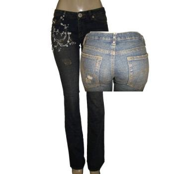 Wholesale Womens Denim Straight Leg Jeans