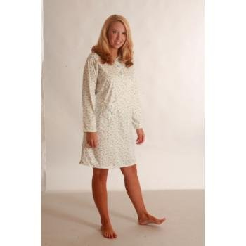 NEW! Wholesale Sindrella Printed Collared Nightgown