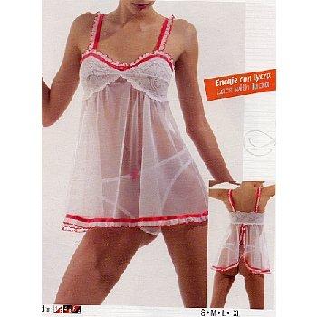 Wholesale Women's 2pc Baby Doll Sets w/ Matching Thongs