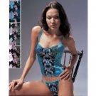 "Wholesale ""La Mariposa"" Classic Embroidered Bustier Set"