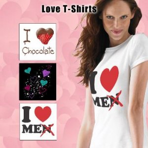 "Wholesale Ladies ""Love"" T-Shirts"