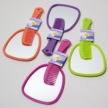 Wholesale Hand Mirror with BONUS Comb