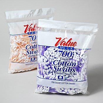 Wholesale Cotton Swabs - 700 Count Value Pack