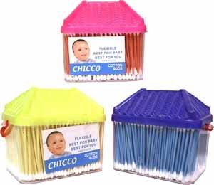 Wholesale Cotton Swab In Plastic Box W/Handle