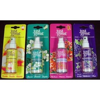Wholesale Air Freshener Pump Spray 2 oz. (assorted scents)