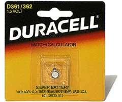 Wholesale Duracell Watch & Calculator Batteries