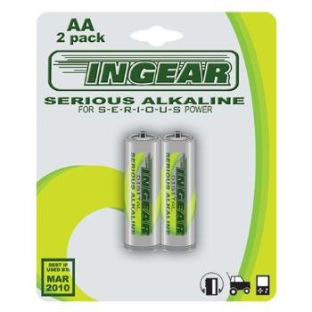 Wholesale Ingear Alkaline AA 2 Pack