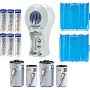 Wholesale Rechargeable NiMH/NiCd Battery and Charger