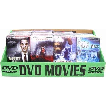 Wholesale DVD Horror Movies, Assorted Display