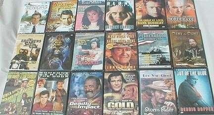 Wholesale Assorted Mixed Titles - Budget DVDs