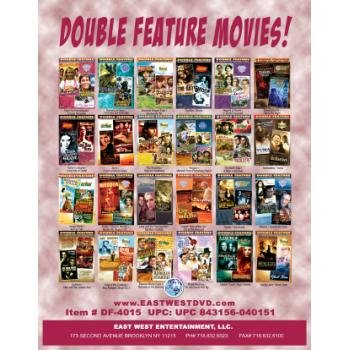 Wholesale Double Featured DVDs General Release Box 15