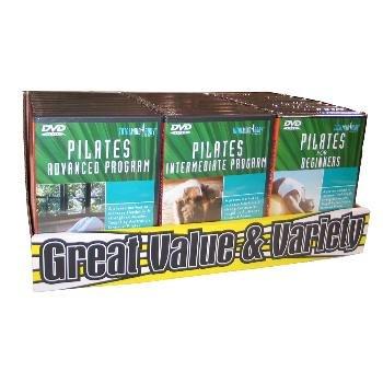 Wholesale Pilates DVDs in Slimline Cases