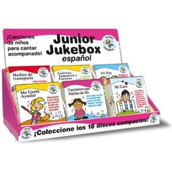 Wholesale Childrens's Junior Jukebox Spanish Music