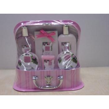 NEW! Wholesale Shanti 5 Piece Bath and Body Gift Set
