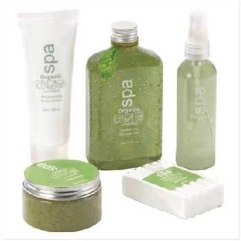 Wholesale Cucumber Organic Spa Set