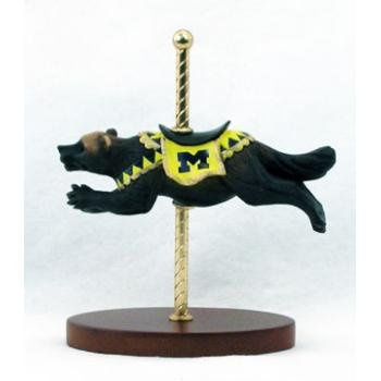 Wholesale Collegiate Carousel Mascot Figurine - Michigan