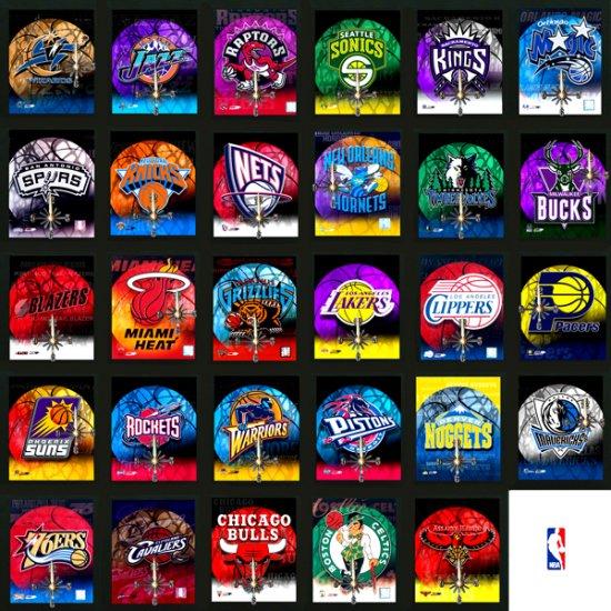 Wholesale Licensed NBA Clocks