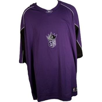 Wholesale Sacremento Kings Short Sleeve Shooting Shirt