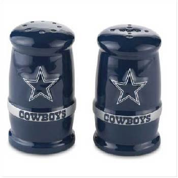 Wholesale Sculpted Salt and Pepper Shakers - Dallas Cowboys