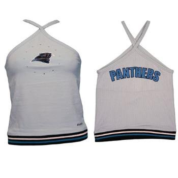 Wholesale Women's Carolina Panthers Halter top