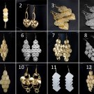 1 pair Hot Hanging Earrings for Women 12 color