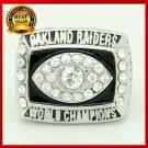 1976 Super Bowl Oakland Raiders Championship Ring Custom Big Size 11 For Men