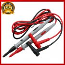 2pcs Multimeter Universal 1000V 20A Test Lead Probe Cable SMD SMT Needle Tip